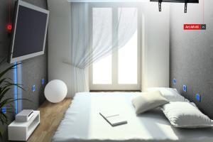Telewizor w małym mieszkaniu